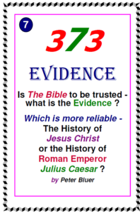 Which is more reliable -The History Of Jesus Or Julius Caesar