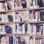books, library, read